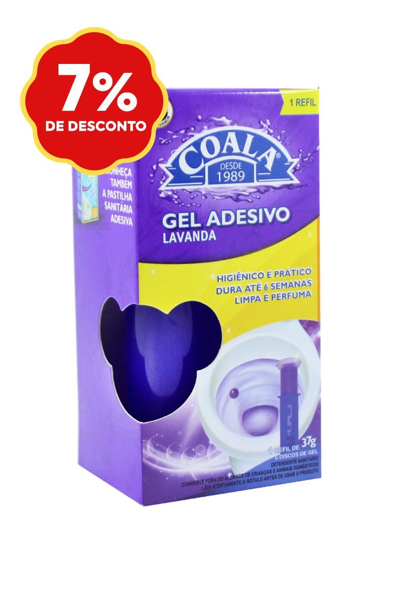 Refil Gel Adesivo Lavanda 37G