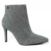 Bota Feminina Ankle Boot Vizzano 3049.225 Lurex