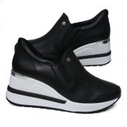 Tênis Anabela Sneaker Via Marte 21-1202 Slip On