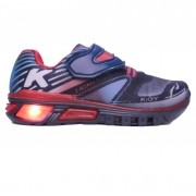 Tênis Led Masculino Infantil Kidy 035-0032 Light Fun