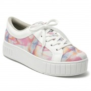 Tênis Via Marte Color TieDye 20-13694 Feminino