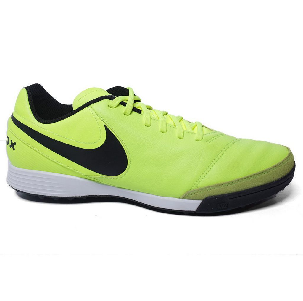 Chuteira Nike Tiempox Genio II Leather TF 819216 Society