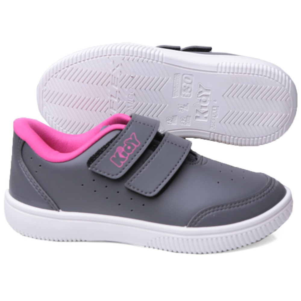Kidy Tenis Infantil 087-0021  Usefull College Velcro