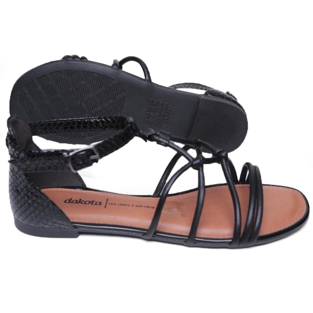 Sandália Dakota Rasteira Feminina Z6232
