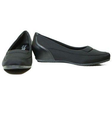 Sapato Anabela Comfortflex Lycra 19-94301
