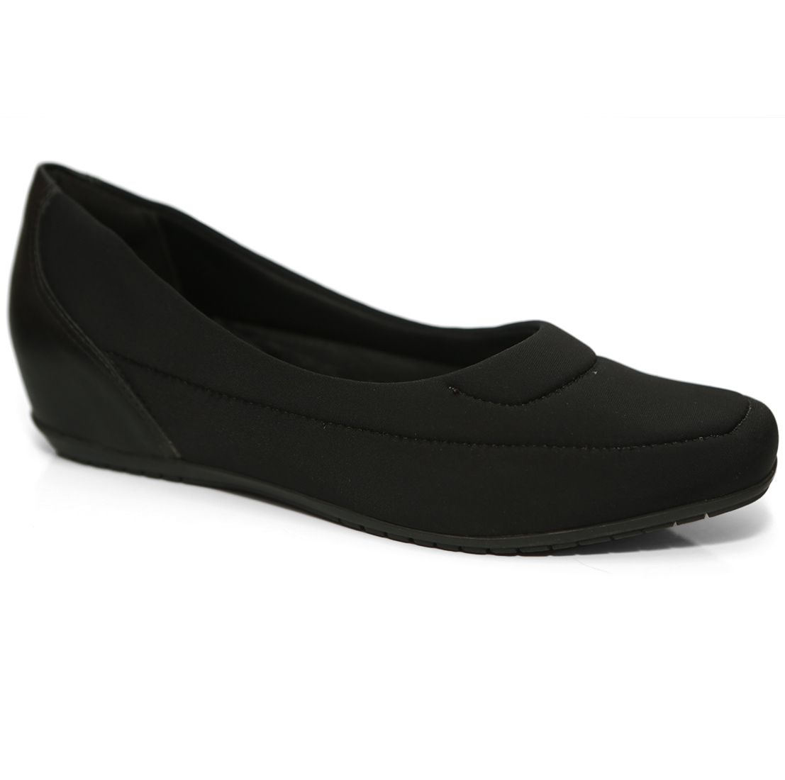 Sapato Feminino 19-94301 Anabela Comfortflex