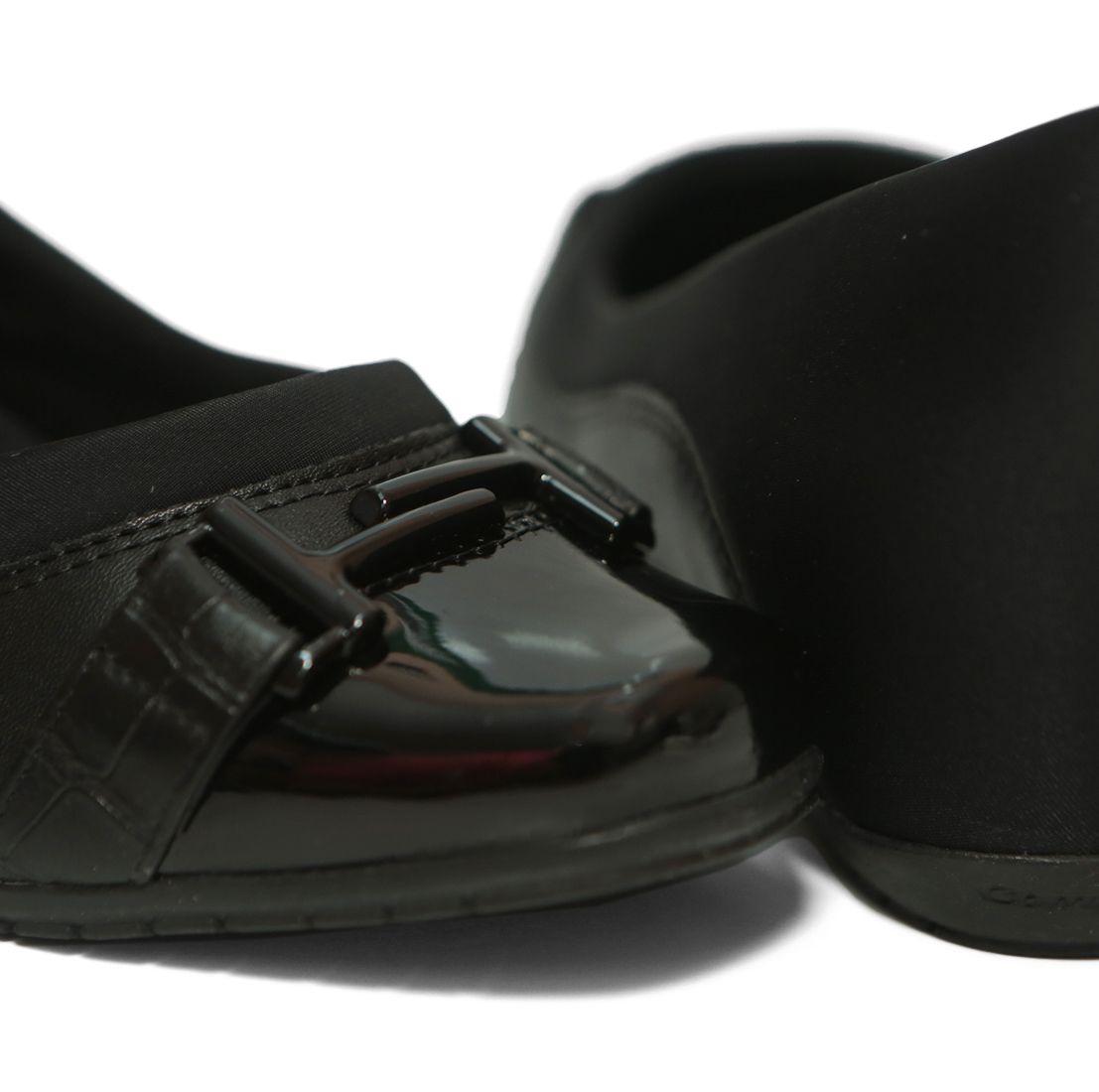 Sapato Feminino Anabela 19-94306 Comfortflex