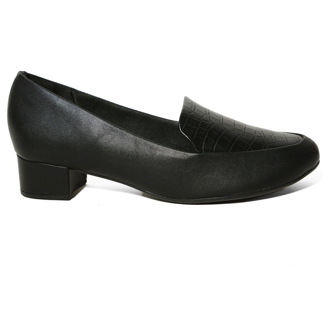 Sapato Feminino  Scarpin Salto Baixo Piccadilly 140105