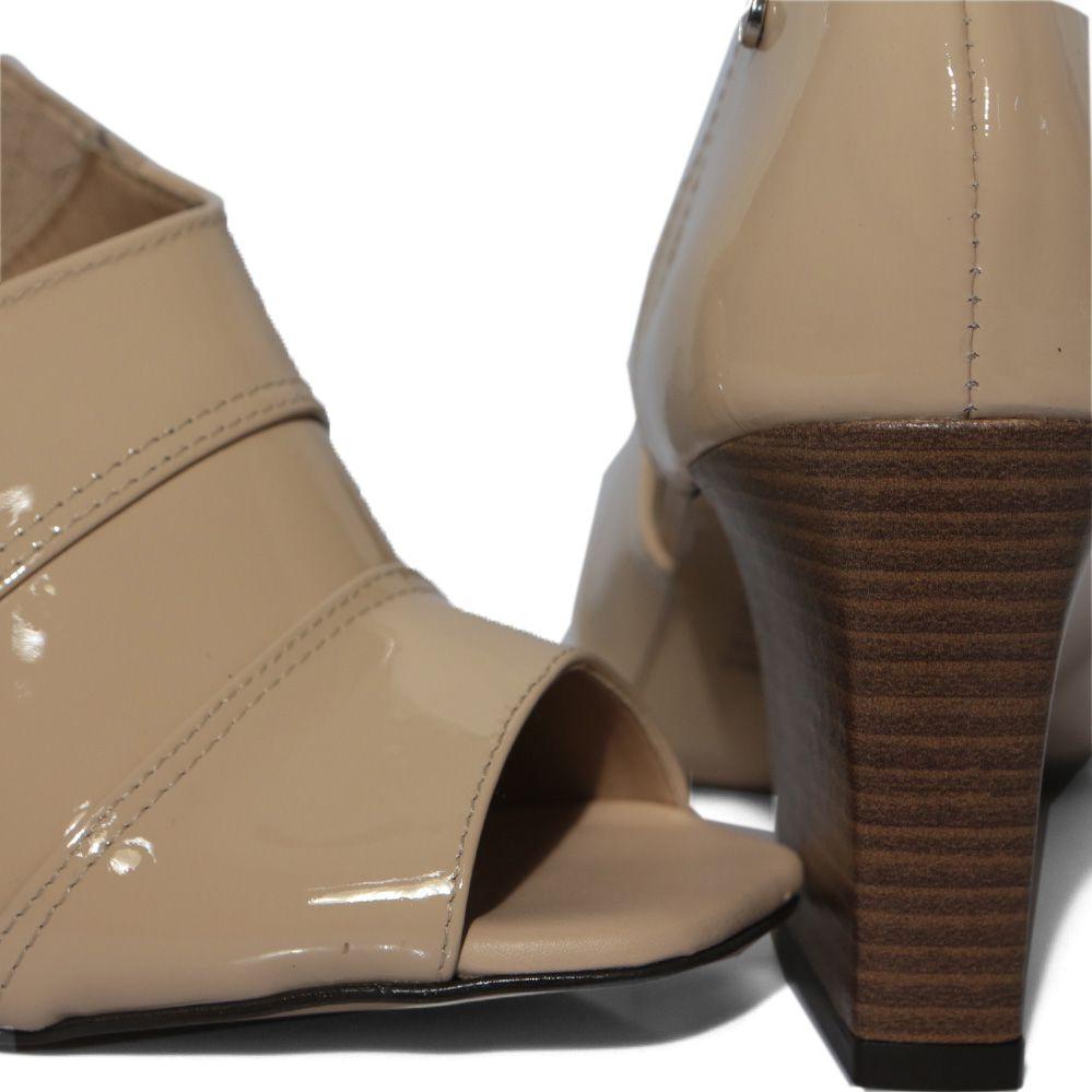 Sapato Tanara Salto Bloco T3763