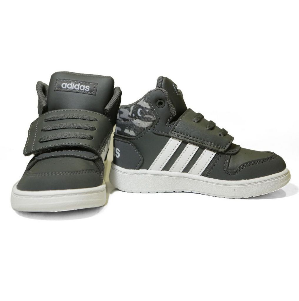 Tênis Adidas Infantil  Hoops Mid 2.0 F35843