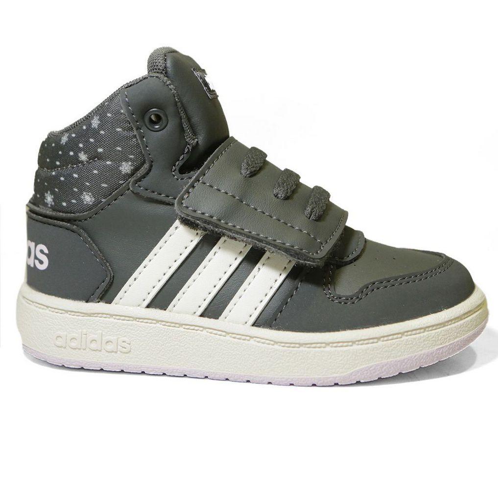Tênis Adidas Infantil  Hoops Mid 2.0 F35844