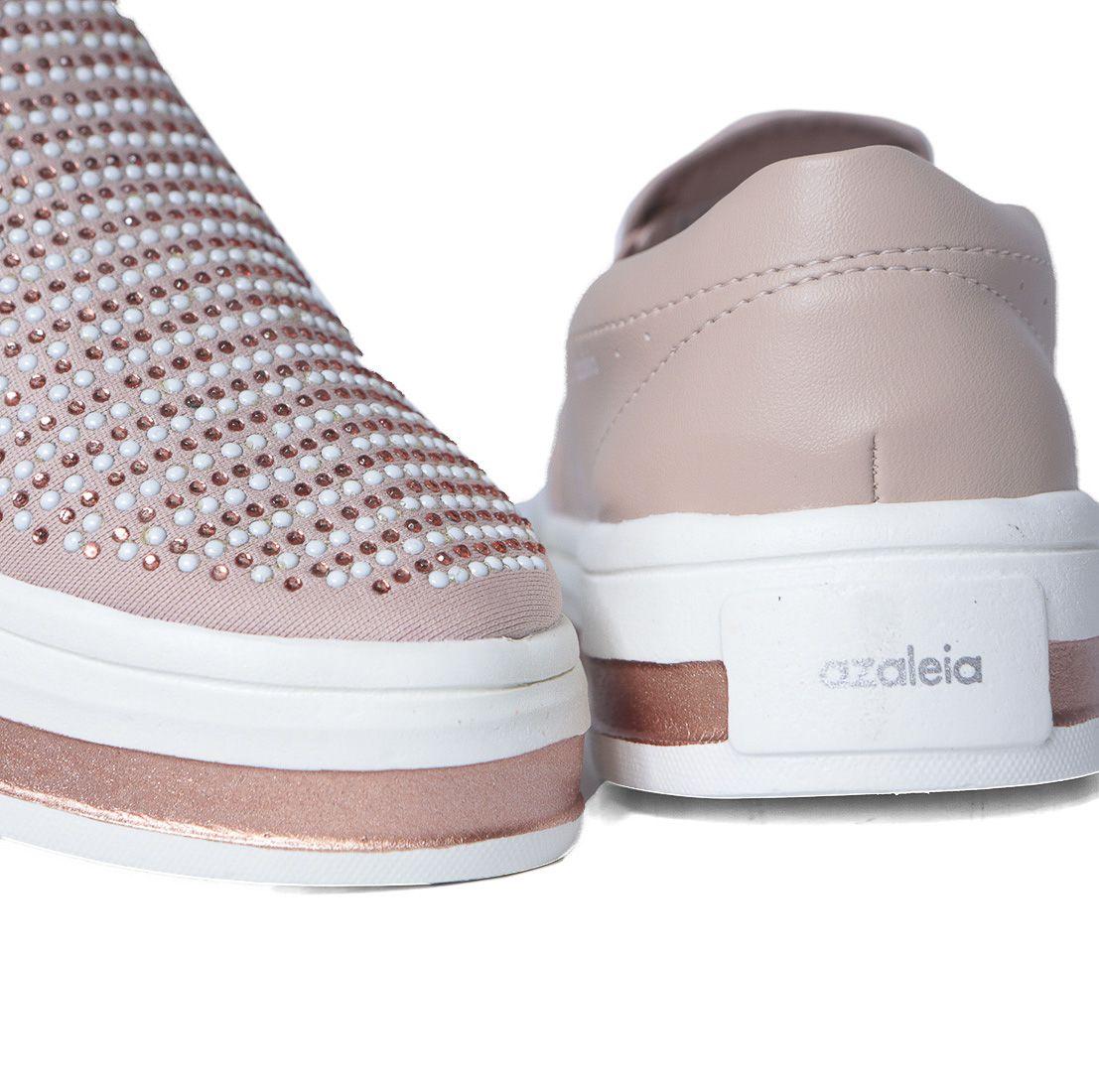 Tênis Casual Slip On Feminino Flatform Azaleia 863/678