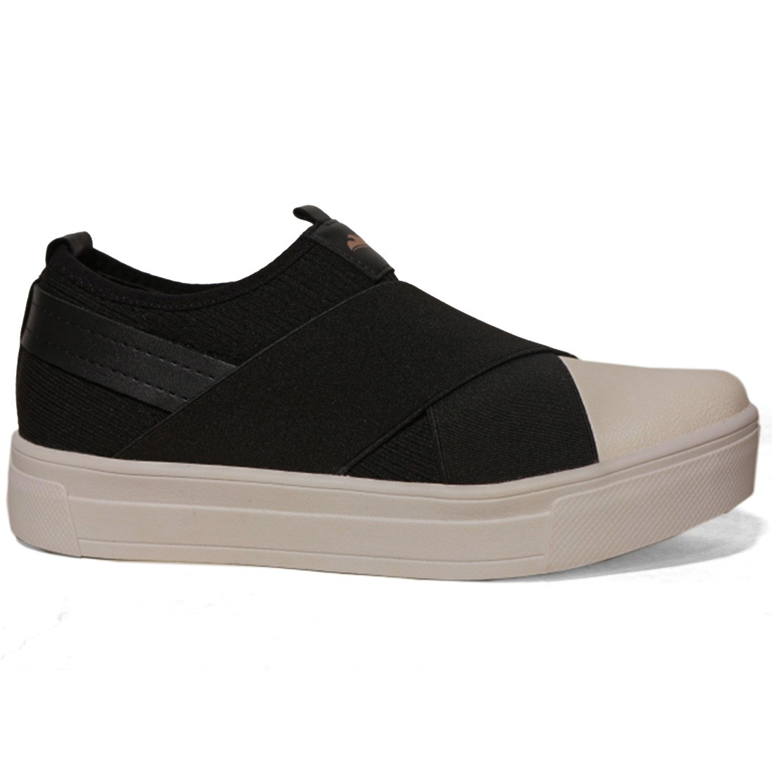 Tênis Dakota G3162 Slip On Flatform Preto