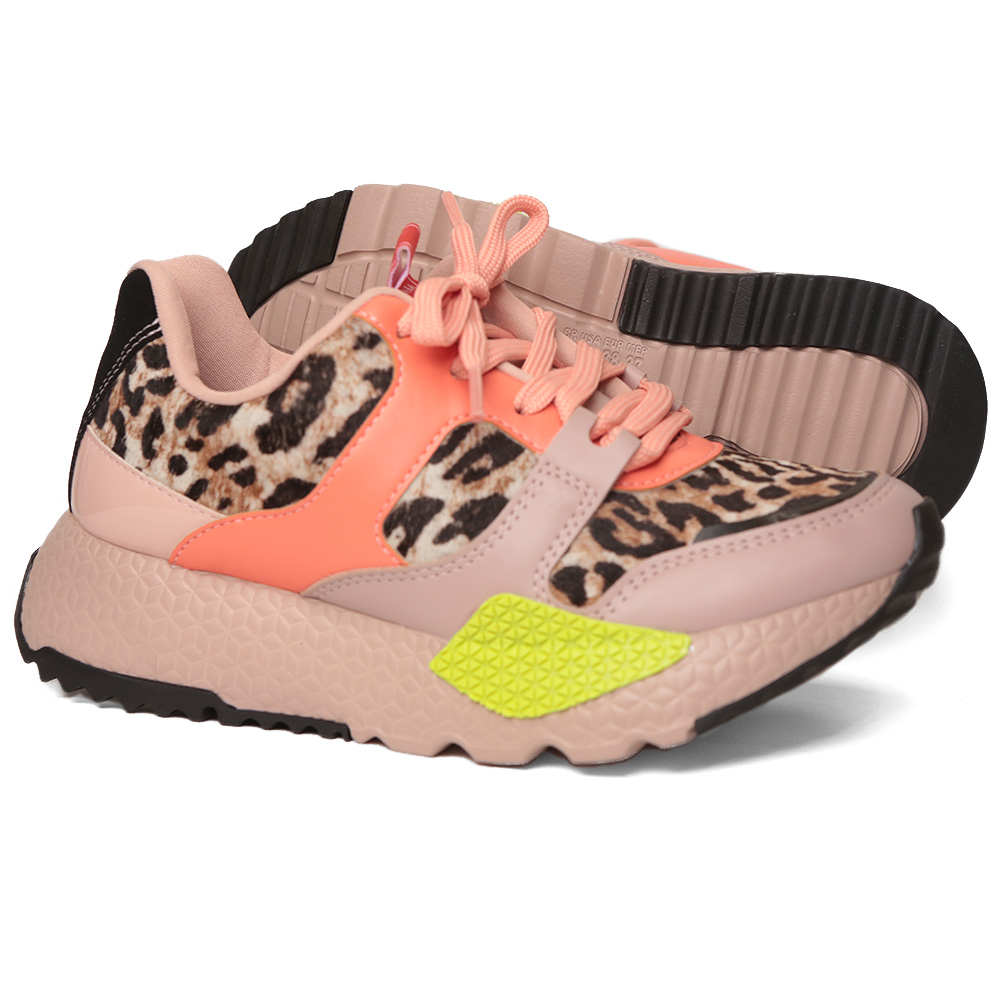 Tênis Tanara Jogging Animal Print T4364 A