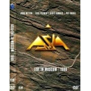 ASIA LIVE IN MOSCOW 1990 DVD+CD