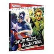 COLEÇAO SUPER HEROIS CAPITAO AMERICA & LANTERNA VERDE VOL.3