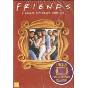 FRIENDS QUARTA TEMPORADA COMPLETA DVD