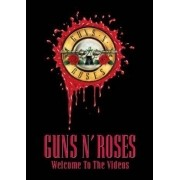GUNS N ROSES WELCOME TO THE VIDEOS DVD