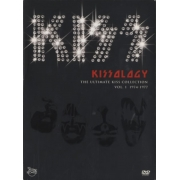 KISS KISSOLOGY THE ULTIMATE KISS COLLECTION VOL. 1 1974-1977 DVD