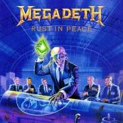 MEGADETH RUST IN PEACE CD
