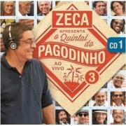 O QUINTAL DO PAGODINHO AO VIVO VOL. 3 CD 1