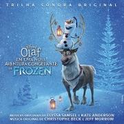OLAF EM UMA AVENTURA CONGELANTE DE FROZEN TRILHA SONORA ORIGINAL CD