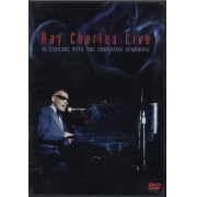 RAY CHARLES LIVE IN CONCERT WITH THE EDMONTON SYMPHONY DVD