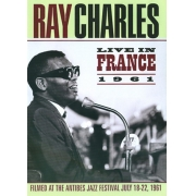 RAY CHARLES LIVE IN FRANCE 1961 DVD
