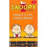 SNOOPY SCHULZ VOL.3. ASSIM E A VIDA CHARLIE BROWN