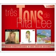 TRES TONS DE RITA LEE BOX 3 CDS