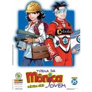 TURMA DA MONICA JOVEM PRIMEIRA SERIE VOL 25