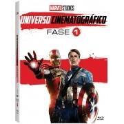 MARVEL STUDIOS UNIVERSO CINEMATOGRAFICO FASE 1 DVD