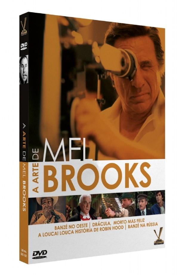 A ARTE DE MEL BROOKS DVD