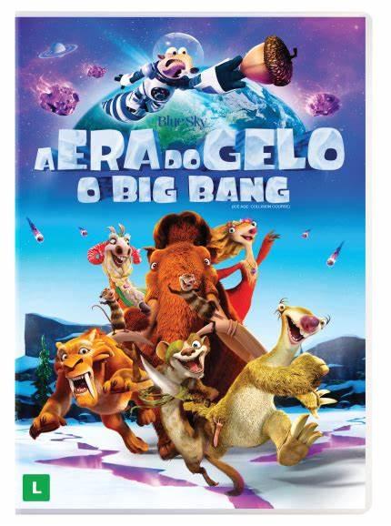 A ERA DO GELO O BIG BANG DVD