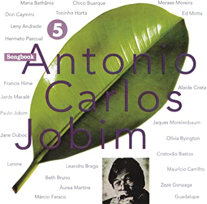 ANTONIO CARLOS JOBIM SONGBOOK VOL.5 CD