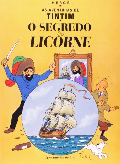 AS AVENTURAS DE TINTIM. O SEGREDO DO LICORNE