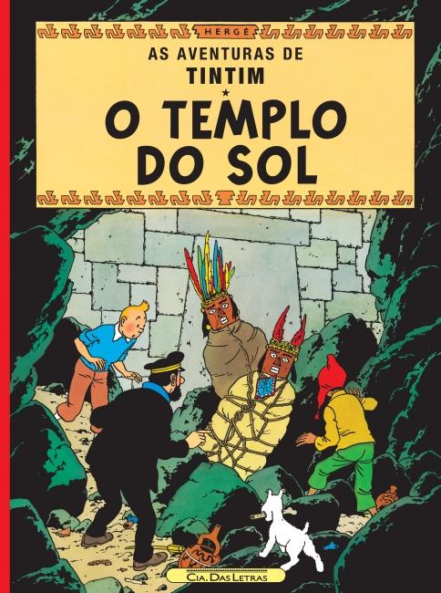 AS AVENTURAS DE TINTIM.O TEMPLO DO SOL
