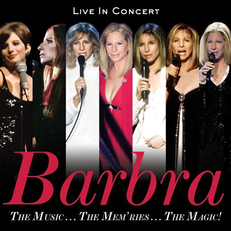 BARBRA STREISAND THE MUSIC THE MEMORIES THE MAGIC CD