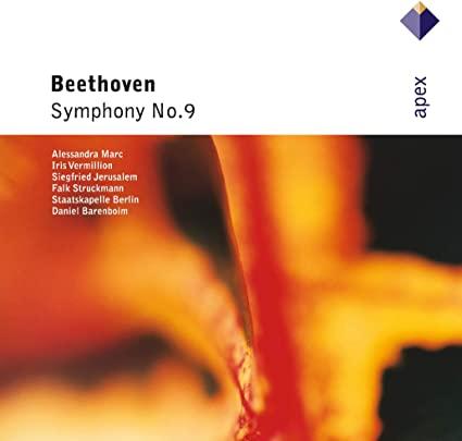 BEETHOVEN  SYMPHONY NO 9 DANIEL BARENBOIM CD