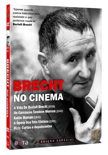BRECHT NO CINEMA DVD