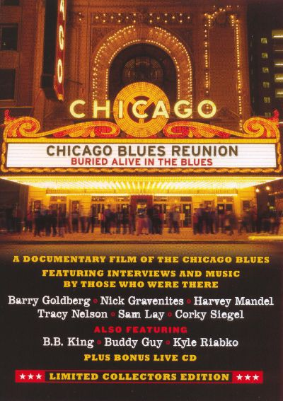 CHICAGO BLUES REUNION BURIED ALIVE IN THE BLUES  DVD + CD