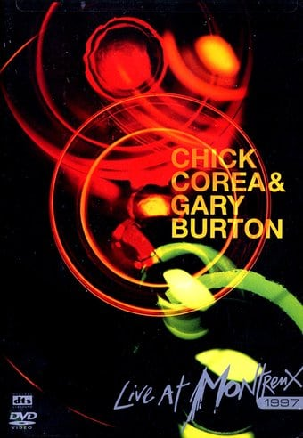 CHICK COREA & GARY BURTON LIVE AT MONTREUX DVD