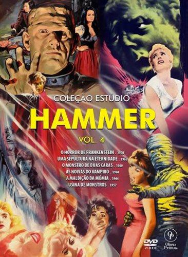 COLEÇÃO ESTUDIO HAMMER VOL 4 DVD