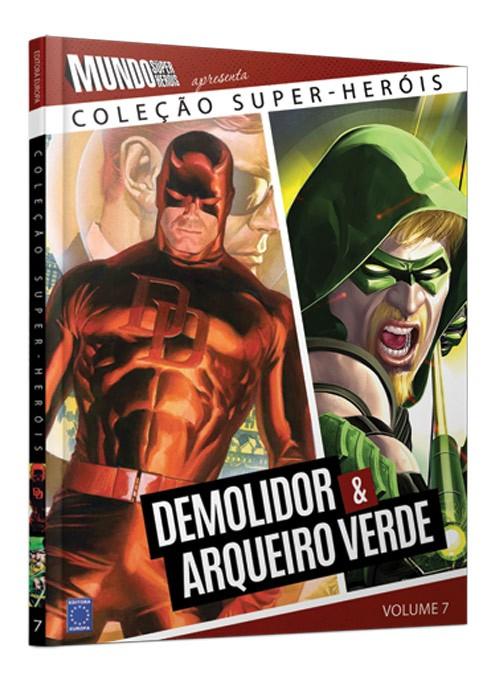 COLEÇAO SUPER HEROIS DEMOLIDOR & ARQUEIRO VERDE VOL. 7