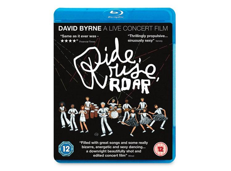 DAVID BYRNE A LIVE CONCERT FILM  BLU RAY