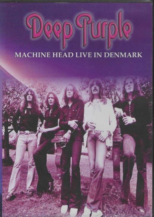 DEEP PURPLE MACHINE HEAD LIVE IN DENMARK DVD