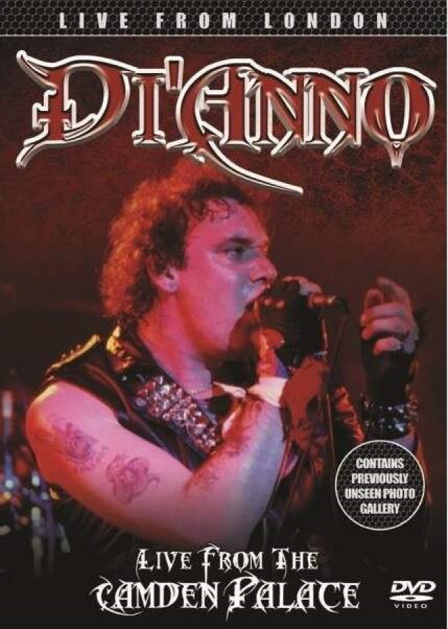 DI ANNO LIVE FROM THE CAMDEN PALACE DVD