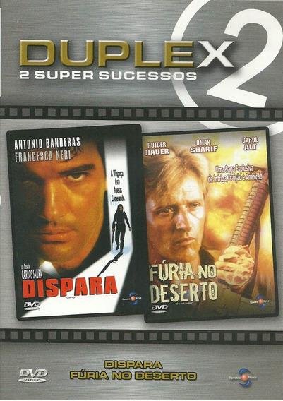 DUPLEX DISPARA E FURIA NO DESERTO DVD