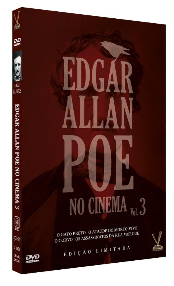 EDGAR ALLAN POE NO CINEMA VOL 3  DVD