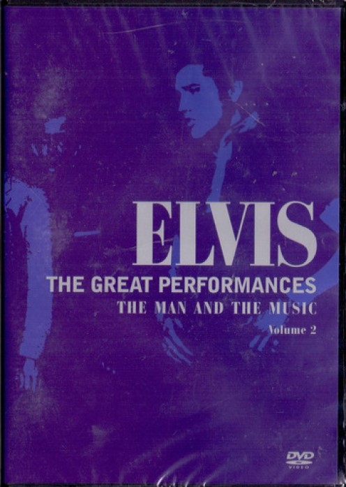 ELVIS THE GREAT PERFORMANCES THE MAN AND THE MUSIC VOL 2 DVD